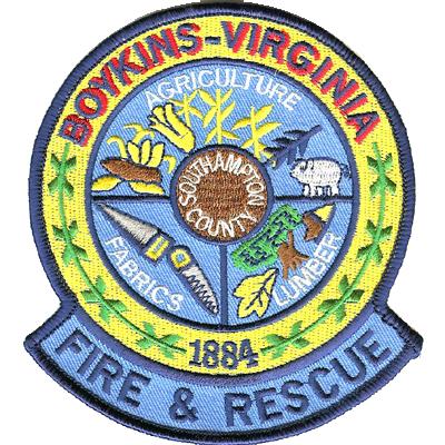 Boykins Virginia Patch