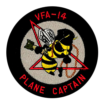 Navy VFA Plane Captain Patch