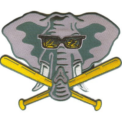 iron on elephant patch