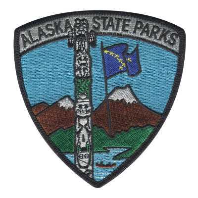 Alaska State Parks Patch