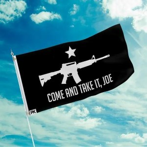 American Patriots Apparel: Come and Take It, Joe Flag