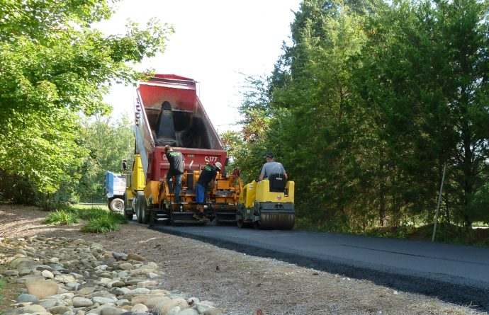 Excavation Grade, Base, and Pave