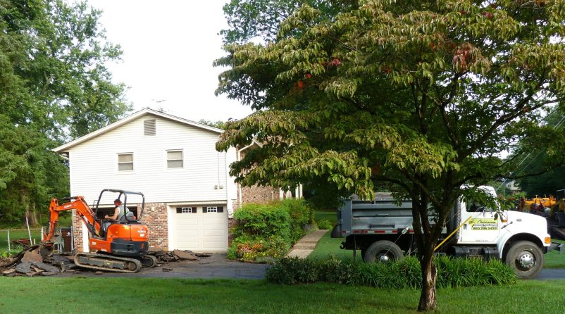 Residential Rip Out and Replace Asphalt