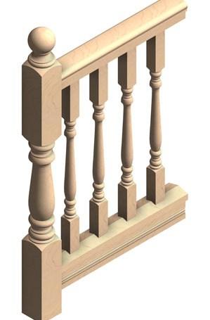 Deck Rail Post Cedar Newel Post For Exterior Porch Railings | Turned Newel Post Designs | Type | Spiral | Round | Wood Baluster | Black
