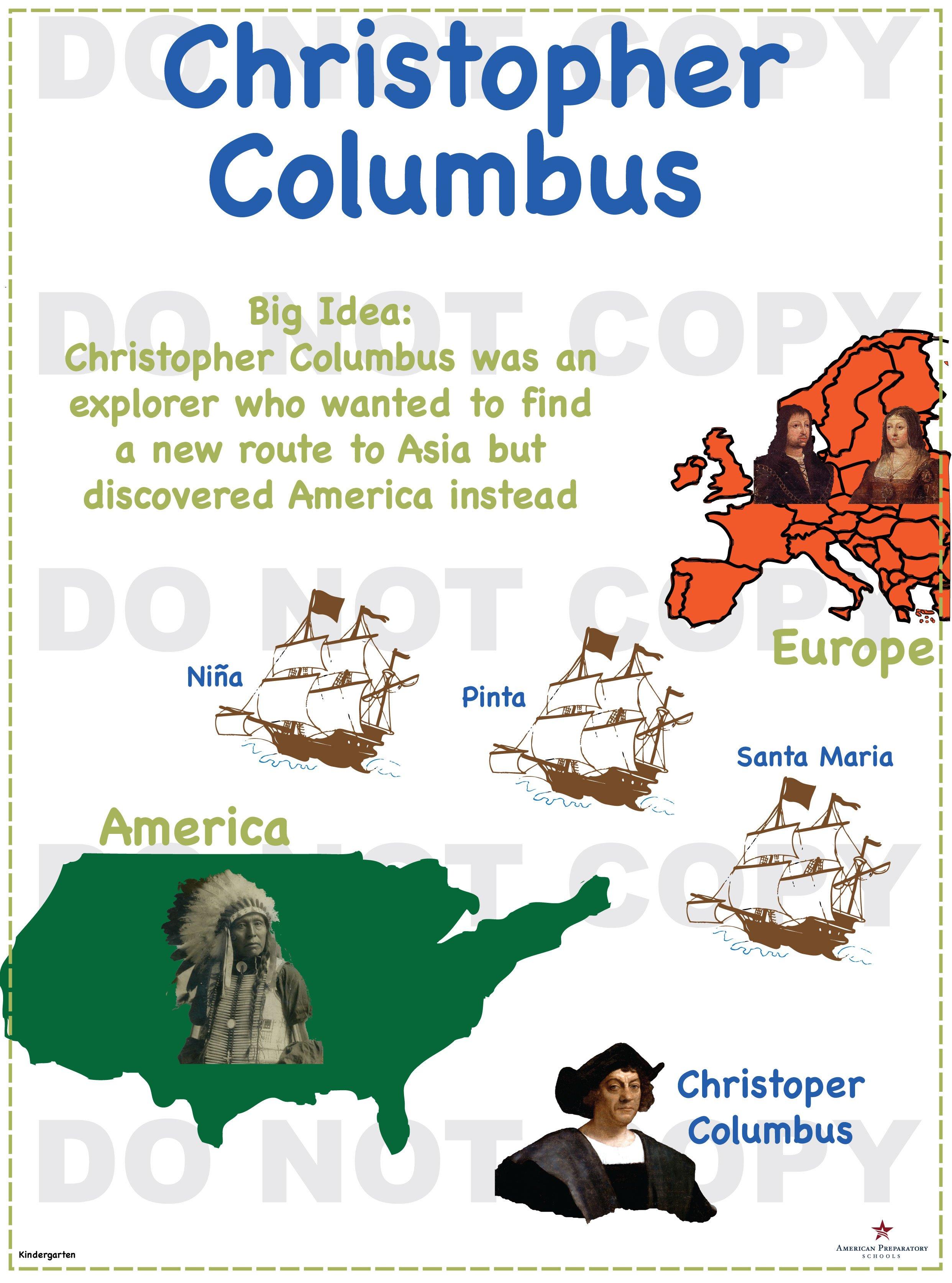 Christopher Columbus Kindergarten