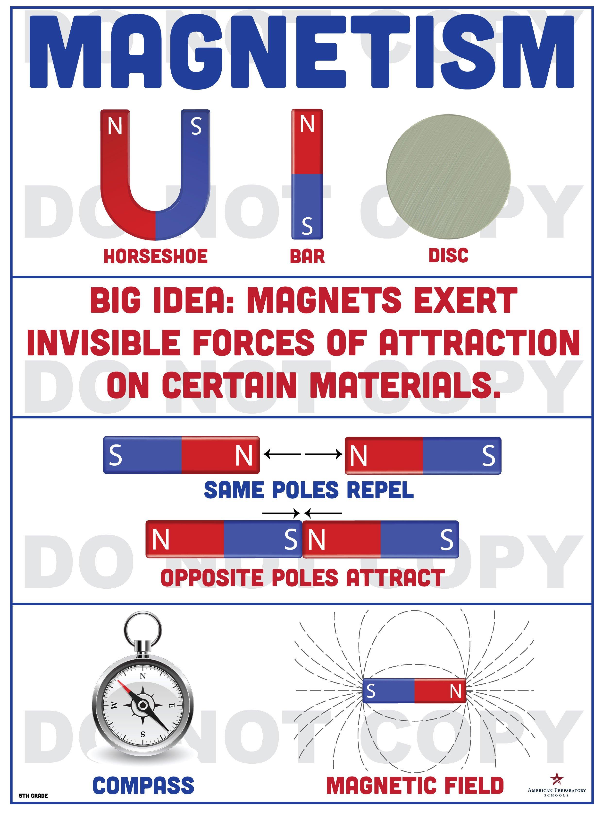 Magnetism 5th Grade