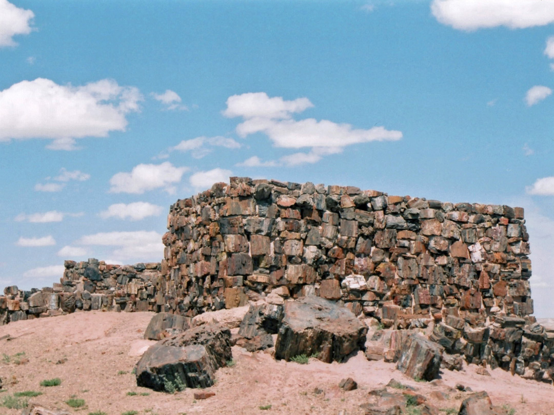 Photographs of Petrified Forest National Park