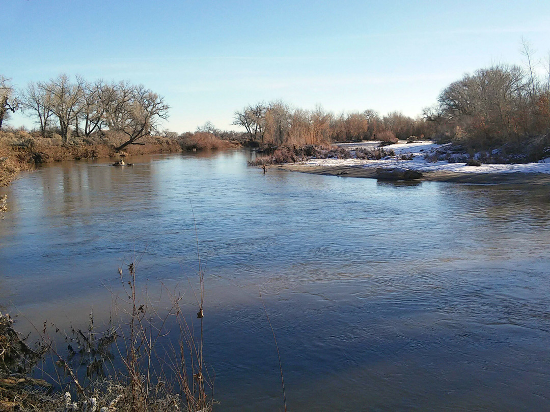 Carson River Fort Churchill State Historic Park Nevada