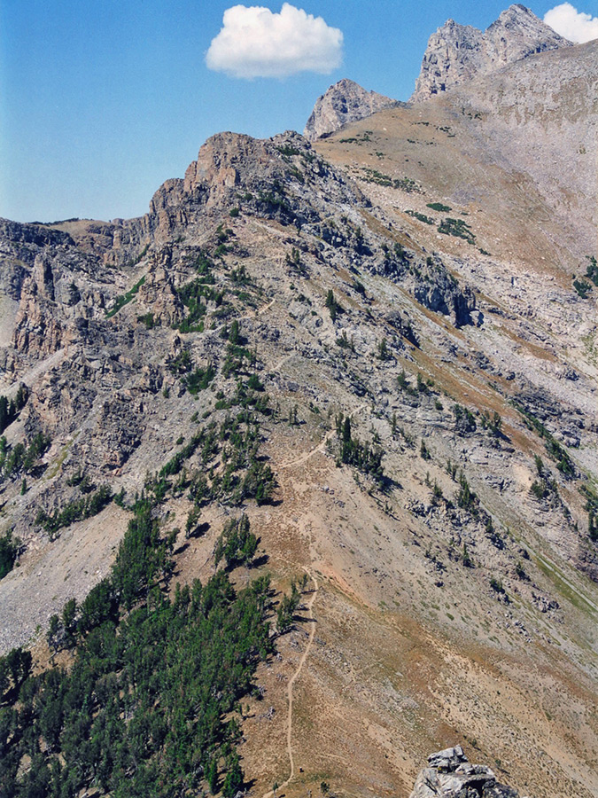 Grand Elevation Basin Park Teton National Alaska