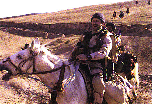 special forces on horseback