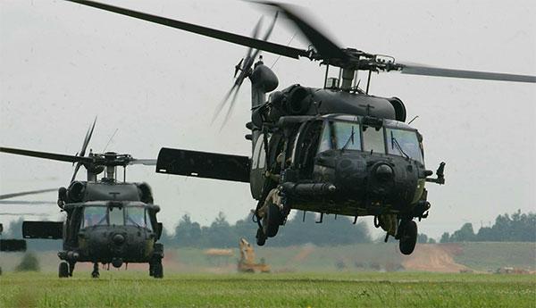 MH-60 Black Hawks