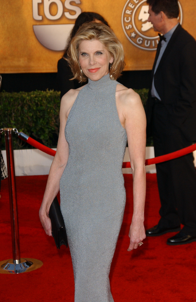 Christine Baranski Pictures Christine Baranski Arrives On The Red Carpet At The 16th Annual Screen Actors Guild Awards Held At The Shrine Auditorium On