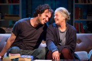 "Grant Harrison and Tana Hicken in ""4000 Miles"" at Studio Theatre. (Photo by Scott Suchman)"