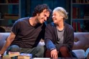 "Grant Harrison and Tana Hicken in ""4000 Miles"" at Studio Theatre. (Photo by Scott Suchman)"