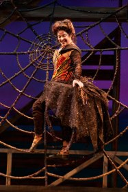 """Charlotte's Web,"" running at Childsplay in Tempe, Az. through Oct. 12; pictured, Debra K. Stevens"