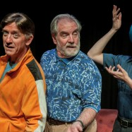 """The Fabulous Lipitones,"" running at Taproot Theatre in Seattle through Oct. 18; with Jeff Berryman, John Patrick Lowrie, and Brad Walker"