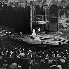 """The Merchant of Venice"" at the New York Shakespeare Festival, 1962, production photograph"