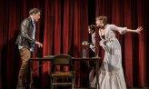 "Rufus Collins and Amanda Drinkall in ""Venus in Fur"" at the Goodman Theatre."