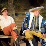 """Equivocation"" by Bill Cain, running through Oct. 4 at Will Geer Theatricum Botanicum in Topanga, Ca.; with Dane Oliver and Alan Blumenfeld (photo by Ian Flanders)"