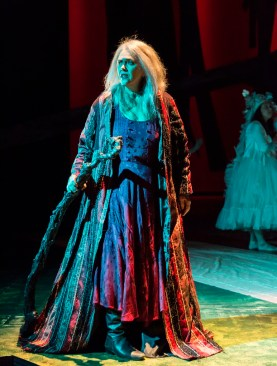 """The Tempest,"" running through Nov. 22 at A Noise Within in Pasadena, Ca.; pictured: Deborah Strang (photo by Craig Schwartz)"