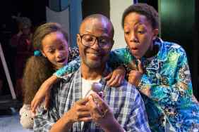 """""""A Soulful Christmas"""" by Stepp Stewart, at Ensemble Theatre in Houston through Dec. 21. Pictured: Jannah Bryant, Andre' Neal and Trenton J. Sutton."""