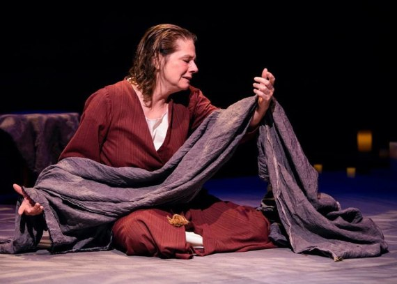 """The Testament of Mary"" by Colm Toibin, at Victory Gardens Theatre in Chicago through Dec. 14. Pictured: Linda Reiter."