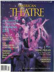"""Last, but hardly least, was our January 2002 cover, with a scene from Diane Paulus's raunchy """"The Donkey Show"""" (still playing today at American Repertory Theater). To be technical, it may not represent exactly the same moment from Shakespeare as the previous examples, but """"Donkey Show"""" deserves a place here for its title alone."""