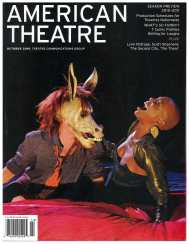 For our October season preview in 2010, we used this vibrant shot from a 2009 co-production between California Shakespeare Theater and Two River Theater Company.