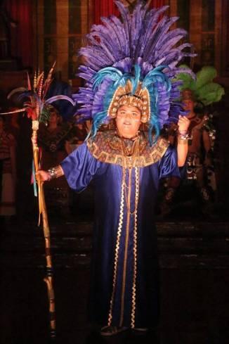 """La Virgen del Tepeyac,"" adapted by Luis Valdez, at El Teatro Campesino in San Juan Bautista, Ca. through Dec. 21. Pictured: Katrina Valdez."