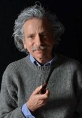 """Einstein"" by Willard Simms, at Actors' Summit Theater in Akron, Ohio. Pictured: Brian Zoldessy."