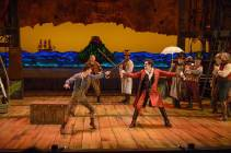 """""""Peter and the Starcatcher"""" by Rick Elice, at ZACH Theatre in Austin through Mar. 1. (Photo by Kirk Tuck)"""