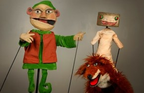 """The Stinky Cheese Man,"" from the book by Jon Scieszka & Lane Smith (used by permission), by Paul Mesner Puppets of Kansas City, Mo., playing at Center for Puppetry Arts in Atlanta through Jan. 11."