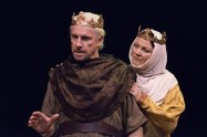 """The Lion in Winter"" by James Goldman, at Irish Classical Theatre Company in Buffalo, N.Y., through Feb. 8. Pictured: Vincent O'Neill and Josephine Hogan."
