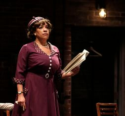 """Trouble in Mind"" by Alice Childress, at Playmakers Repertory Company in Chapel Hill, N.C., through Feb. 8. Pictured: Kathryn Hunter-Williams. (Photo by Jon Gardiner)"