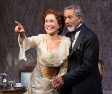 """A Cherry Orchard"" by Anton Chekhov, adapted by Emily Mann, at People's LIght and Theatre in Malvern, Penn., through Mar. 8. Pictured: Mary McDonnell and David Strathairn. (Photo by Mark Garvin)"
