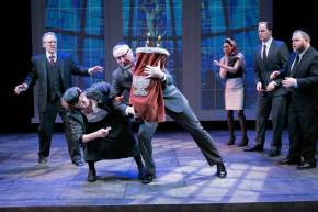 """""""G-d's Honest Truth"""" by Renee Calarco at Theater J in Washington, D.C., through April 19. (Photo by C. Stanley Photography)"""