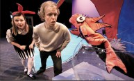 """""""The Cat in the Hat,"""" adapted by Katie Mitchell from Dr. Seuss, at Arkansas Arts Center in Little Rock, Ark."""