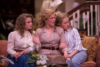 """""""Dividing the Estate"""" by Horton Foote, at Florida Repertory Theatre through Apr. 8. Pictured: Courtney Feiman, Rachel Burttram and Kayla Tomas. (Photo by Nick Adams)"""