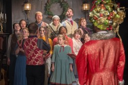 """A Christmas Carol,"" adapted by Rick Lombardo from Charles Dickens, at Portland Playhouse in Portland, Ore., through Dec. 30. (Photo by Brud Giles)"