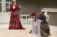 """""""A Doll's House, Part 2"""" by Lucas Hnath, at Arden Theatre Company in Philadelphia through Dec. 9. Pictured: Grace Gonglewski and Joilet F. Harris."""