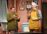 """""""A Year With Frog and Toad,"""" by Robert Reale, Willie Reale, and Adrianne Lobel, at Arden Theatre Company in Philadelphia through Jan. 29. Pictured: Jeffrey Coon and Ben Dibble. (Photo by Mark Garvin)"""