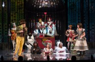 """""""Alice in Wonderland,"""" adapted by Peter Hinton from Lewis Carroll, at Shaw Festival Theatre in Niagara-on-the-Lake, Ontario, Canada, through Oct. 16. (Photo by David Cooper)"""