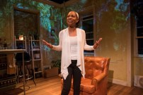 """""""Beauty's Daughter"""" by Dael Orlandersmith, at American Blues Theater in Chicago through Aug. 5. Pictured: Wandachristine. (Photo by Michael Brosilow)"""