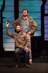 """Body of an American"" by Dan O'Brien, at Hartford Stage in Hartford, Conn., through Jan. 31. Pictured: Michael Craine and Michael Cumpsty. (Photo by T. Charles Erickson)"
