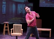 """Buyer and Cellar"" by Jonathan Tolins, at ZACH Theatre in Austin, Texas, through Aug. 14. Pictured: J. Robert Moore."