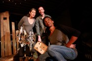 """""""Chickens in the Yard"""" by Paul Kruse and the Hatch Arts Collective, at Quantam Theatre in Pittsburgh through Dec. 6."""