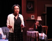 """""""Crumbs from the Table of Joy"""" by Lynn Nottage, at Martha's Vineyard Playhouse in Vineyard Haven, Mass., through July 30. Pictured: Dria Brown and Danielle Hopkins."""