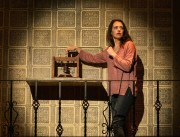 """The (Curious Case of the) Watson Intelligence"" by Madeleine George, at Shotgun Players in Berkeley, Calif., through Sept. 3. Pictured: Sarah Mitchell."