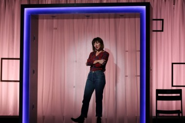 """""""Do This"""" by Karen Siff Exkorn, at Gulfshore Playhouse in Naples, Fla., through Jan. 29. Pictured: Carmen Cusack."""