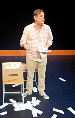 """Every Brilliant Thing"" by Duncan Macmillan, at B Street Theatre in Sacramento, Calif., through Sept. 18. Pictured: Duncan Macmillan."
